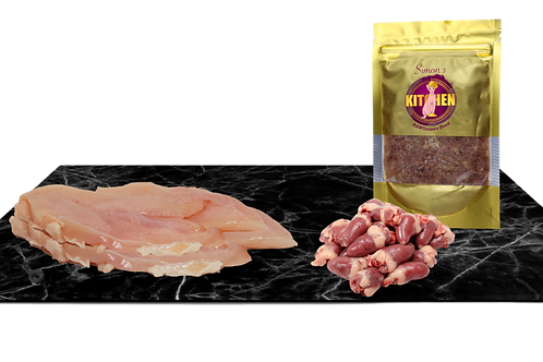 Trial pack Chicken Balanced Mince without quail eggs