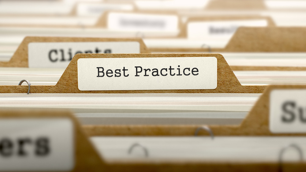 contracting best practices records