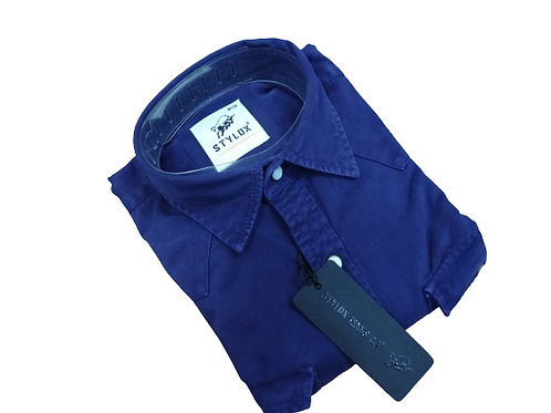 Stylox blue denim shirts for men