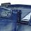 Thumbnail: Stylox men slim fit mid rise blue jeans 5901-1684