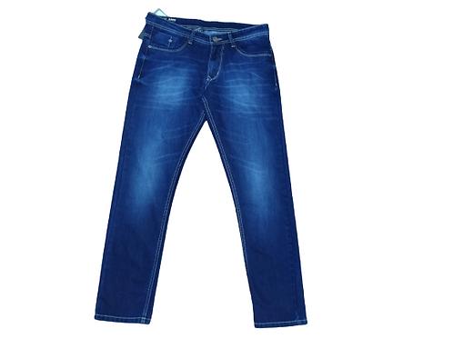 Stylox men slim fit mid rise dark blue jeans 5201-1680