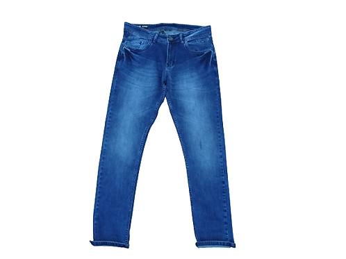 Stylox men slim fit mid rise blue jeans 5201-1682
