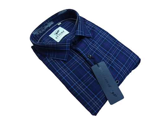Stylox check shirts for men
