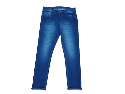 Stylox men slim fit mid rise blue jeans 5901-1685