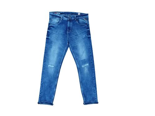 Stylox men slim fit mid rise blue jeans 5114-1651