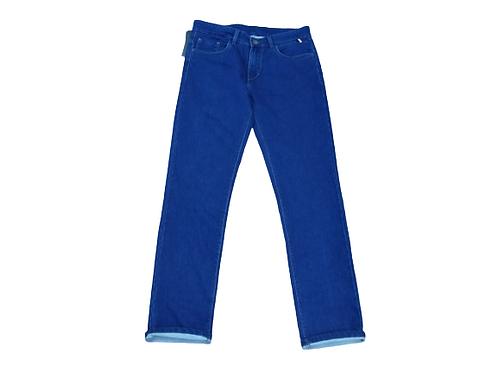 Stylox men slim fit mid rise light blue jeans 5101-1695