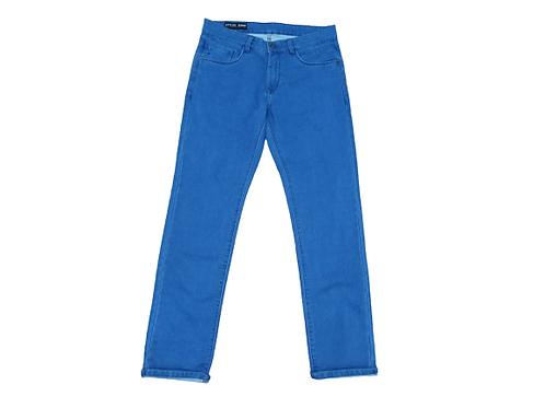 Stylox men slim fit mid rise light blue jeans 5101-1697