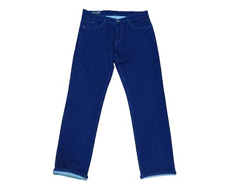 Stylox men slim fit mid rise dark blue jeans 5201-1698