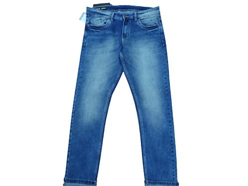 Stylox men slim fit mid rise blue jeans 5901-1684