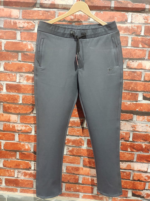 STYLOX Grey Stretchable Lycra Trackpant for Men 5005