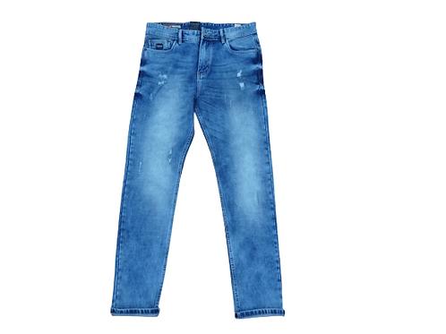 Stylox men slim fit mid rise jeans
