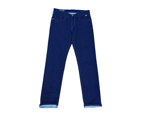 Stylox men slim fit mid rise light blue jeans 5201-1696