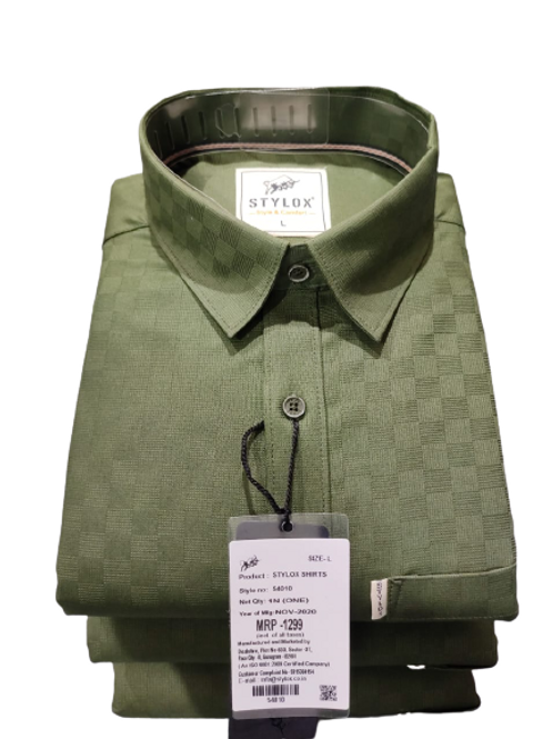 Stylox casual shirt full sleeves for men