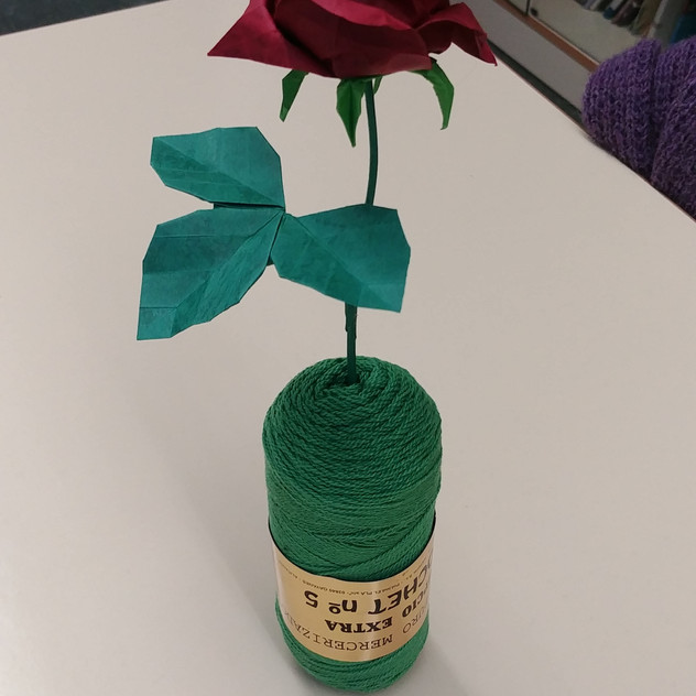 Taller de roses japoneses