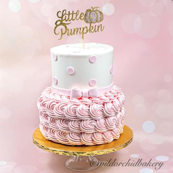 Baby Shower Little Pumpkin Theme
