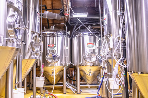 Moat Mountain Brewing Company Website Shoot