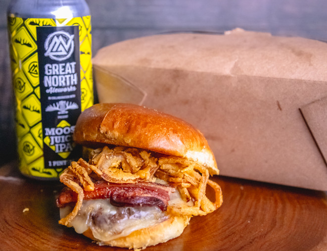 Renegades Burger with Great North Beer