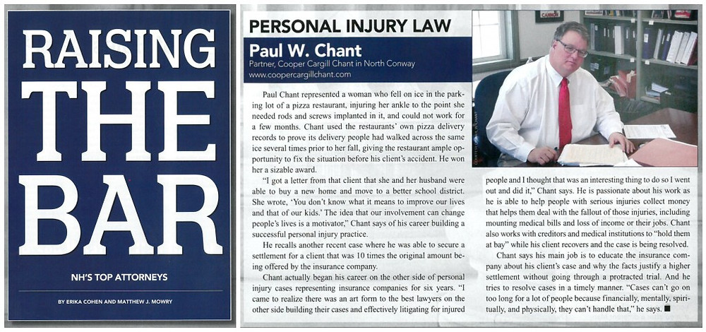 NH's Top Attorneys - Paul Chant