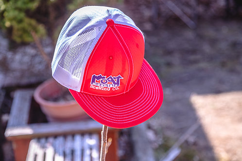 Trucker Hat (Red/White)