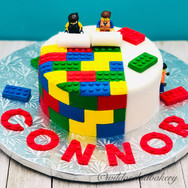 Beautifully made Custom lego birthday ca