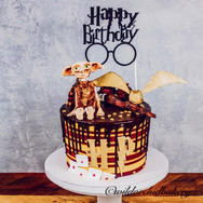 Harry Potter Customized Birthday Cake fr