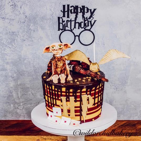 Harry Potter Customized Birthday Cake fr