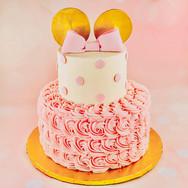 Custom Disney Inspired Birthday Cake
