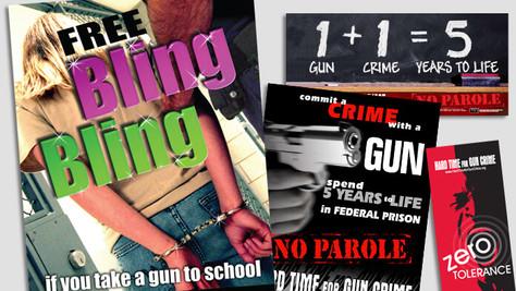 HARD TIME FOR GUN CRIME MATERIALS