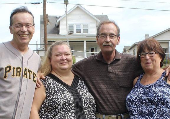 Kathy's siblings (Kenn, Jane, Jack)