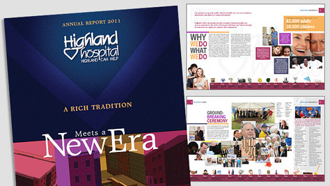 HIGHLAND HOSPTIAL ANNUAL REPORT