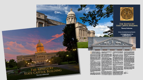 THORNEY LIEBERMAN KENTUCKY STATE CAPITOL BUILDING BOOK