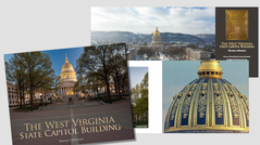 THORNEY LIEBERSMAN WV STATE CAPITOL BUILDING BOOK