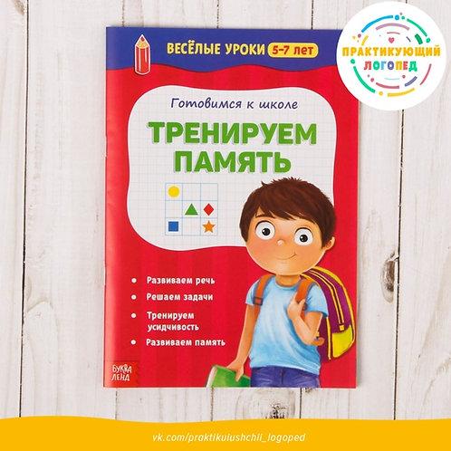 «Готовимся к школе. Тренируем память», Весёлые уроки, 5–7 лет