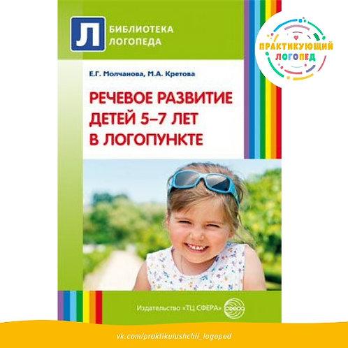 Речевое развитие детей 5—7 лет в логопункте