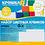 Thumbnail: Набор цветных кубиков, 12 штук, 4 х 4 см