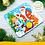 Thumbnail: Пазл музыкальный «Дед мороз и Снегурочка», 9 мягких деталей