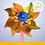 Thumbnail: Ветерок мини, голографический, цвета МИКС