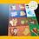 Thumbnail: Baby-пазлы «Кто что ест, дикие животные»
