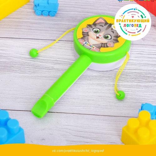 Музыкальная игрушка стучалка, МИКС