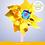 Thumbnail: Ветерок мини «Завиток», цвета МИКС
