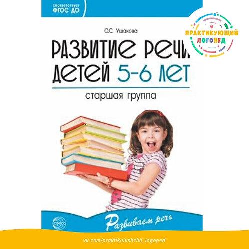 Развитие речи детей 5—6 лет. Старшая группа