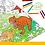 Thumbnail: Раскраска гигант «Эра динозавров»