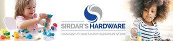 Sirdar's Hardware Store Signage