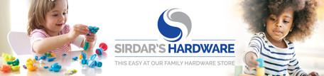 Sirdar's Hardware Store Signage