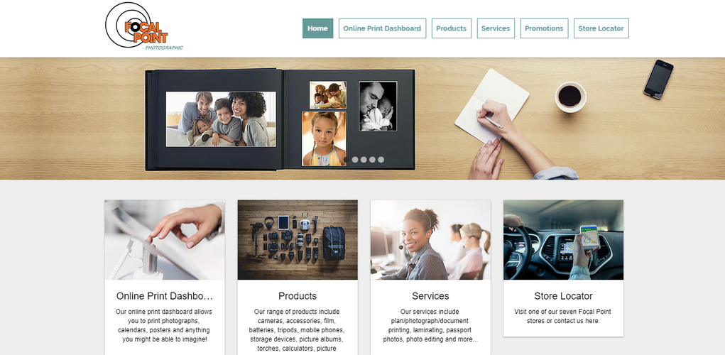 Focal Point Website & Dashboard