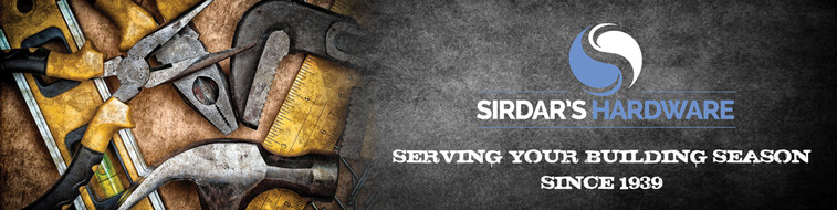Sirdar's Hardware Logo & Identity