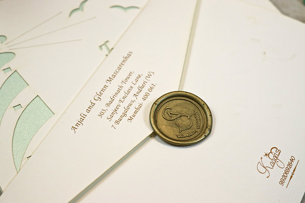 Sealing Wax Stamp -Wedding Invitation Accessories