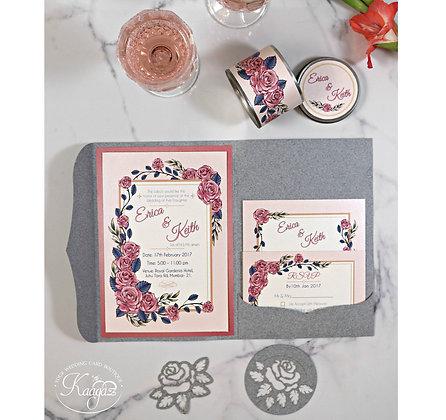 Enchanted Rose - Wedding Card Set