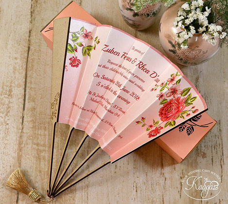 Fan-Tastic Wedding Invitation