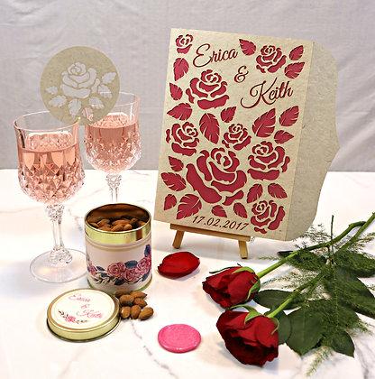 Enchanted Rose 2 - Wedding Card Set